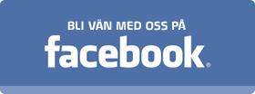 Bli vän med oss på Facebook